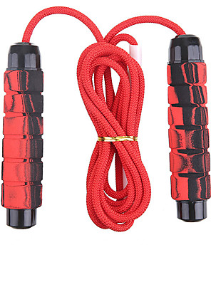 cheap Gymnastics-Jump Rope Sports Nylon PP Exercise & Fitness Portable Durable Weight Loss For Men Women