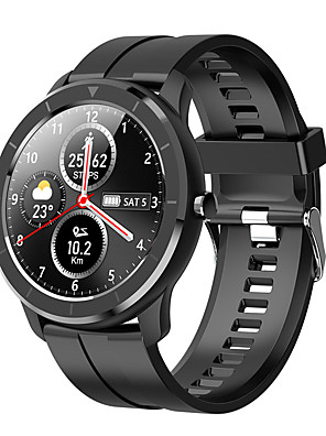 cheap Smart Watches-T6 Unisex Smart Wristbands Android iOS Bluetooth Heart Rate Monitor Blood Pressure Measurement Calories Burned Long Standby Anti-lost Pedometer Call Reminder Sleep Tracker Sedentary Reminder Alarm