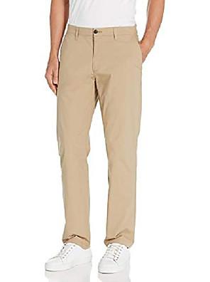 cheap Men's Pants & Shorts-but& #39;s straight-fit lightweight stretch pant, khaki, 35w x 32l