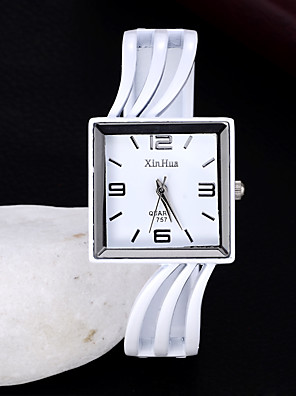 cheap Quartz Watches-Women's Quartz Watches Quartz Stylish Fashion Adorable Black / White Analog - White Black One Year Battery Life