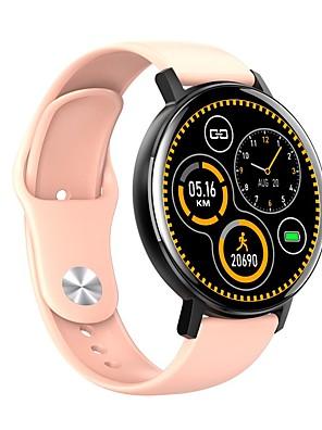 olcso Okos órák-R18 Uniszex Intelligens Watch Bluetooth Szívritmus monitorizálás Vérnyomásmérés Elégetett kalória Egészségügy Vér oxigén monitor Lépésszámláló Hívás emlékeztető Alvás nyomkövető ülő Emlékeztető Hol a
