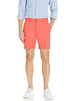 """cheap Men's Pants & Shorts-but& #39;s casual 7"""" stretch chino shorts, cranberry, 40"""