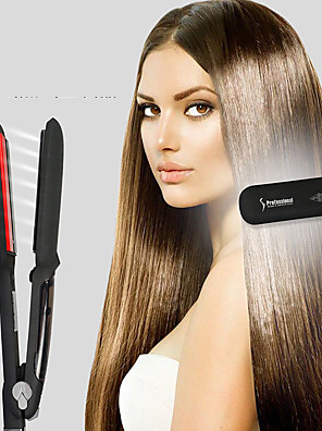 cheap Smart Watches-The New Classic Infrared Flat Iron Hair Straightener  Ceramic Titanium Floating Plates with Comfort Handle Dual Voltage Heat Up To 450