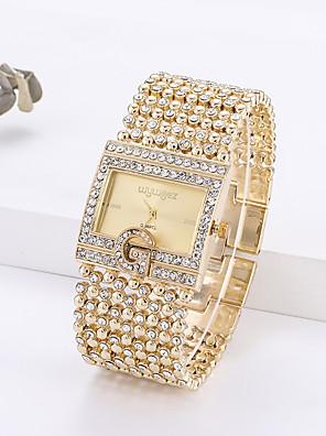 cheap Quartz Watches-Women's Quartz Watches Quartz Modern Style Stylish Classic Chronograph Gold Analog - Gold Silver