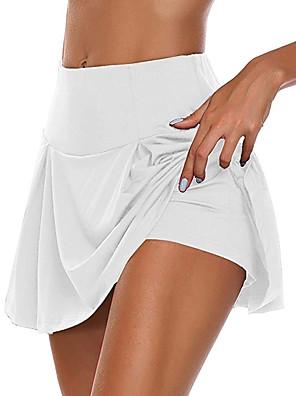 cheap Socks & Hosiery-Women's Daily Wear Date Basic Sexy Mini Swing Skirts Solid Colored Layered / Skinny