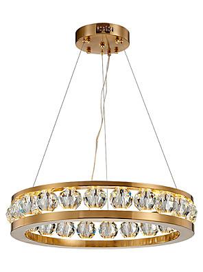 Недорогие Топы для мальчиков-80 см круг дизайн подвесной светильник металл современный 110-120в 220-240в