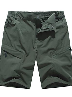 cheap Men's Pants & Shorts-Men's Basic Daily Shorts Pants Solid Colored Outdoor Black Army Green Dark Gray M L XL