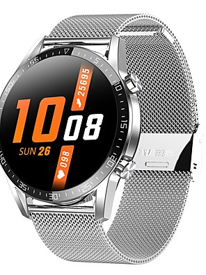 cheap Smart Watches-T03 Unisex Smartwatch Android iOS Bluetooth Heart Rate Monitor Blood Pressure Measurement Calories Burned Thermometer Health Care ECG+PPG Pedometer Call Reminder Sedentary Reminder Alarm Clock