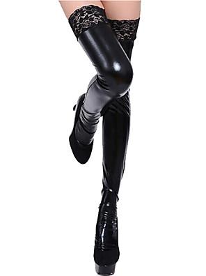 cheap Socks & Hosiery-Women's Thin Stockings - Sexy Lady / Lace 15D Black One-Size