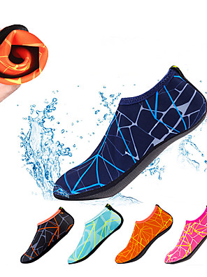 cheap Wetsuits, Diving Suits & Rash Guard Shirts-Men's Women's Water Socks Aqua Socks Polyester Quick Dry Anti-Slip Barefoot Yoga Swimming Diving Snorkeling Water Sports - for Adults