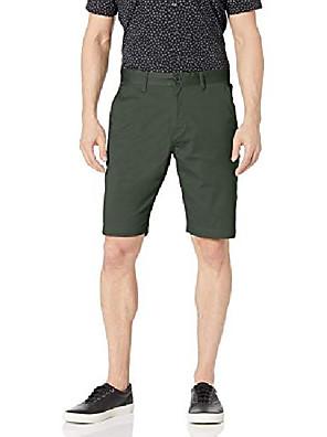 cheap Men's Pants & Shorts-but& #39;s frickin modern stretch chino short,green,48