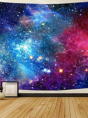 """cheap Wall Tapestries-galaxy tapestry nebula tapestry starry sky tapestry colorful cosmic out space tapestry psychedelic mystic stars tapestry wall hanging for ceiling living room dorm decor & #40;92.5""""×70.5"""","""