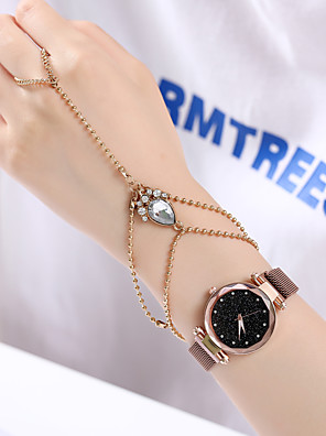 cheap Quartz Watches-Women's Quartz Watches Quartz Vintage Style Stylish Fashion Chronograph Rose Gold Analog - Rose Gold