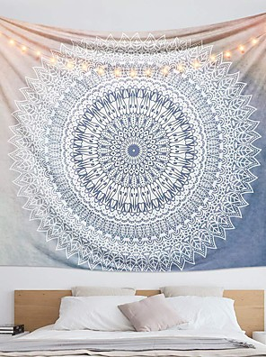 cheap Wall Tapestries-Wall Tapestry Art Decor Blanket Curtain Hanging Home Bedroom Living Room Dorm Decoration Polyester Print Mandala Indian