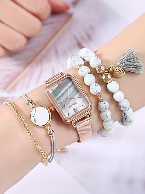 저렴한 쿼츠 시계-여성용 석영 석영 우아함 크로노그래프 로즈 골드 아날로그 - 로즈 골드 클로버