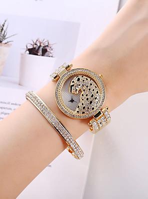 cheap Fashion Watches-Women's Quartz Watches Quartz Modern Style Stylish Classic Chronograph Analog Rose Gold Gold Silver / Imitation Diamond