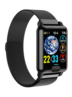cheap Smart Watches-E04S Men's Smartwatch Bluetooth Heart Rate Monitor Blood Pressure Measurement Calories Burned Thermometer Health Care ECG+PPG Stopwatch Pedometer Call Reminder Sleep Tracker