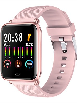 cheap Smart Watches-Q9T Unisex Smartwatch Android iOS Bluetooth Heart Rate Monitor Blood Pressure Measurement Calories Burned Thermometer Health Care Pedometer Call Reminder Sedentary Reminder Find My Device Alarm Clock