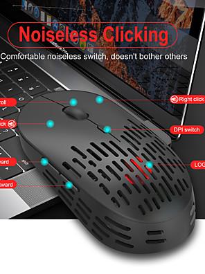 tanie -1 szt. Lekka mysz bezprzewodowa 2.4g pusta przenośna akumulatorowa mini komputer biznesowy laptop do myszy komputerowej