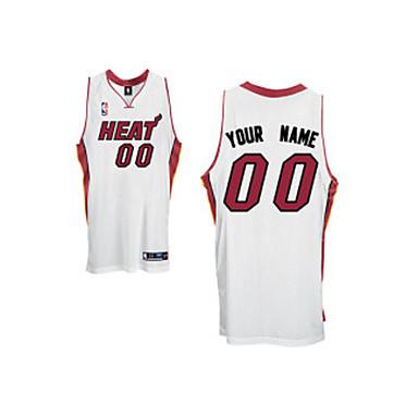 the latest d8b83 8d58c [$13.99] Miami Heat Customized Home NBA Basketball Jersey (LQFX060)