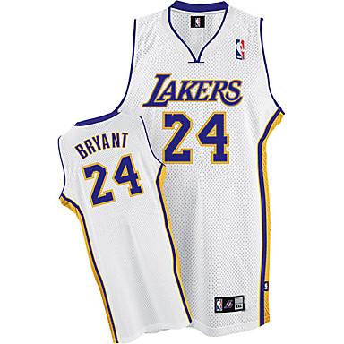 superior quality 6de35 83c13 [$13.99] Los Angeles Lakers Kobe Bryant White NBA Basketball Jersey  (LQFX137)