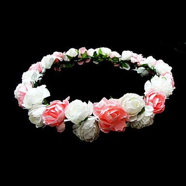 preiswerte Geschenke für Blumenmädchen-schöne Papier Blume Hochzeit Blumenmädchen Kranz / Kopfstück