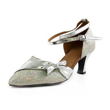 48ddfa62 espumosos brillo / zapatos de cuero sintético superior de baile de salón  latino / modernos zapatos de las mujeres 213467 2019 – $24.99