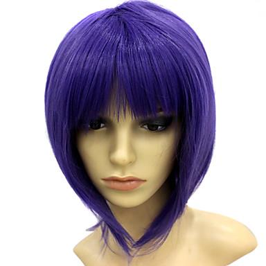Capless korta värmebeständig violett maskerad peruk 211010 2019 –  12.99 f3ece4c834b46