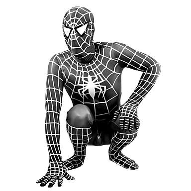 Costumi zentai tutina aderente tute aderenti tuta di pelle for Stampe da colorare spiderman