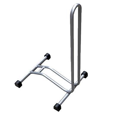 billige Sykkeltilbehør-Acacia Bike Floor Rack Multifunksjonell Justerbare Høy krage Jern Legering Sykling Vei Sykkel Fjellsykkel Svart Sølv