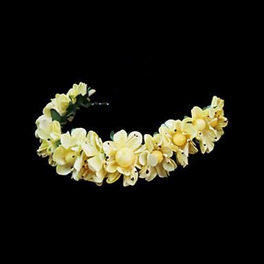 povoljno Party pokrivala za glavu-Kristal / Tekstil / Papir tijare / Trake za kosu / Cvijeće s 1 Vjenčanje / Special Occasion / Zabava / večer Glava