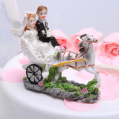 garden themed wedding cake toppers cake topper garden theme vehicle classic resin 14644