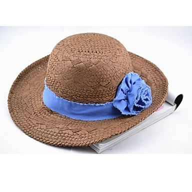 jean retro de flores del sombrero de paja 279438 2019 –  14.69 2c46512b2a7