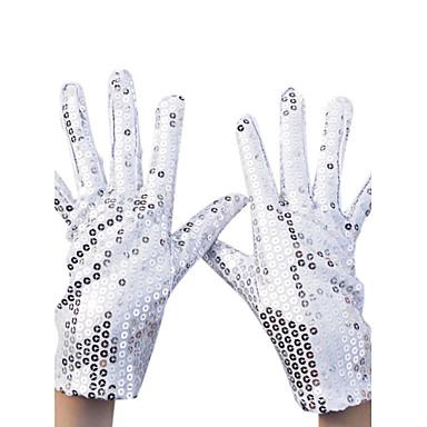 preiswerte Handschuhe für die Party-Nylon Handgelenk-Länge Handschuh Party / Abendhandschuhe Mit Paillette