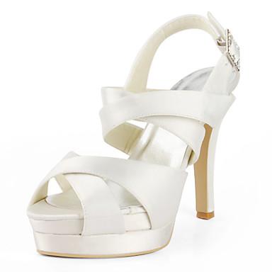 Wedding Shoes Sandálias Chanel Preto Rosa Vermelho Marfim Branco Prateado Dourado Feminino Casamento De 286151 2018 Por 34 99