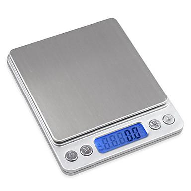 preiswerte Waagen-mini 2000g 0,1g präzision digital schmuck waage gewicht elektronische tasche balance