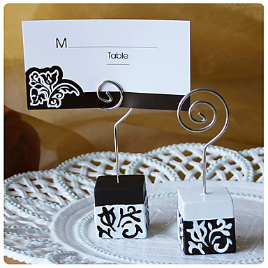 place cards and holders black and white damask design place card holdersset of 4 u2013 499