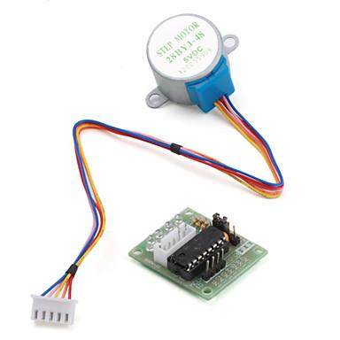 preiswerte Handys & Elektronik-5v 4-phasige 5-adrige Schrittmotor-Treiberplatine uln2003 für arduino