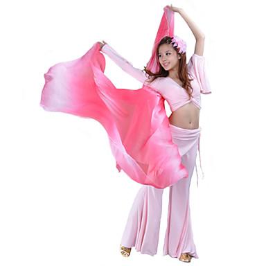 cheap Dancewear & Dance Shoes-Dance Accessories Stage Props Women's Performance Silk