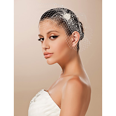 povoljno Party pokrivala za glavu-Til Fascinators / Šeširi s Cvjetni print 1pc Vjenčanje / Special Occasion Glava