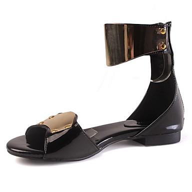 ae62142f4a em pele de salto sandálias baixas   apartamentos festa   noite sapatos de  361137 2019 por  39.99
