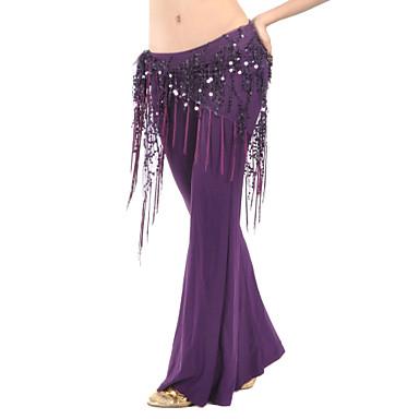 povoljno Odjeća i obuća za ples-Trbušni ples Pojas Žene Trening Poliester Šljokice Trbušni ples Hip Šal