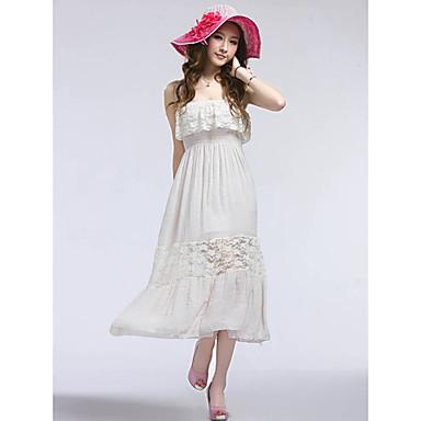 dfeba609 elegant dame hvit lang kjole 376175 2019 – $24.99