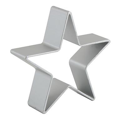 preiswerte Urlaub Angebote-Aluminium Weihnachten Heimwerken Kuchen Plätzchen Obstkuchen Backform Backwerkzeuge