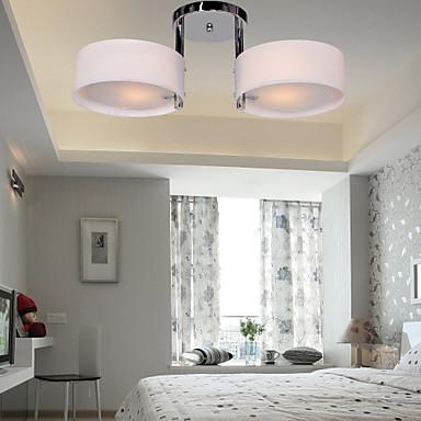Modern Contemporary Mini Style Flush Mount Ambient Light