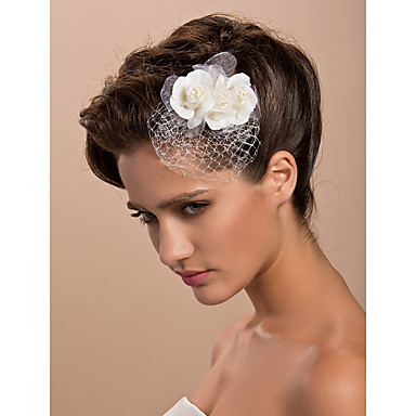 povoljno Party pokrivala za glavu-Til / Kristal / Tekstil tijare / Fascinators / Cvijeće s 1 Vjenčanje / Special Occasion / Zabava / večer Glava