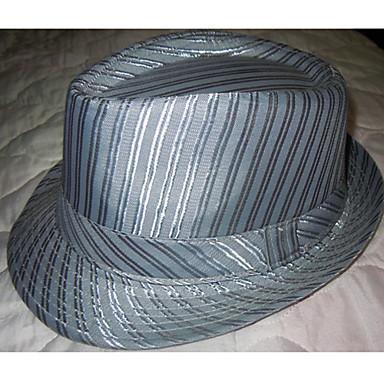 miesten silkki raita huopahattu (ympärysmitta  58cm) 478657 2019 – hintaan   10.49 b5deec262c