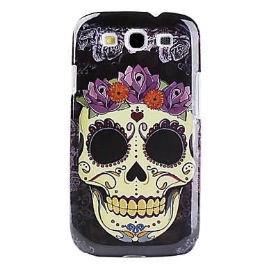 Samsung Galaxy S3 I9300 Icin Iskelet Kafa Desen Zor Durumda 444930