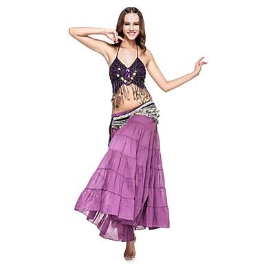 povoljno Odjeća i obuća za ples-Trbušni ples Suknja Žene Seksi blagdanski kostimi Lan S volanima Sudačko Suknja