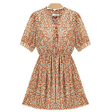 aab6937588f alan šifon bruslař šaty s květinovým potiskem 492103 2019 –  20.99